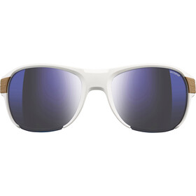 Julbo Regatta Octopus Gafas de sol, white/light brown-multilayer blue